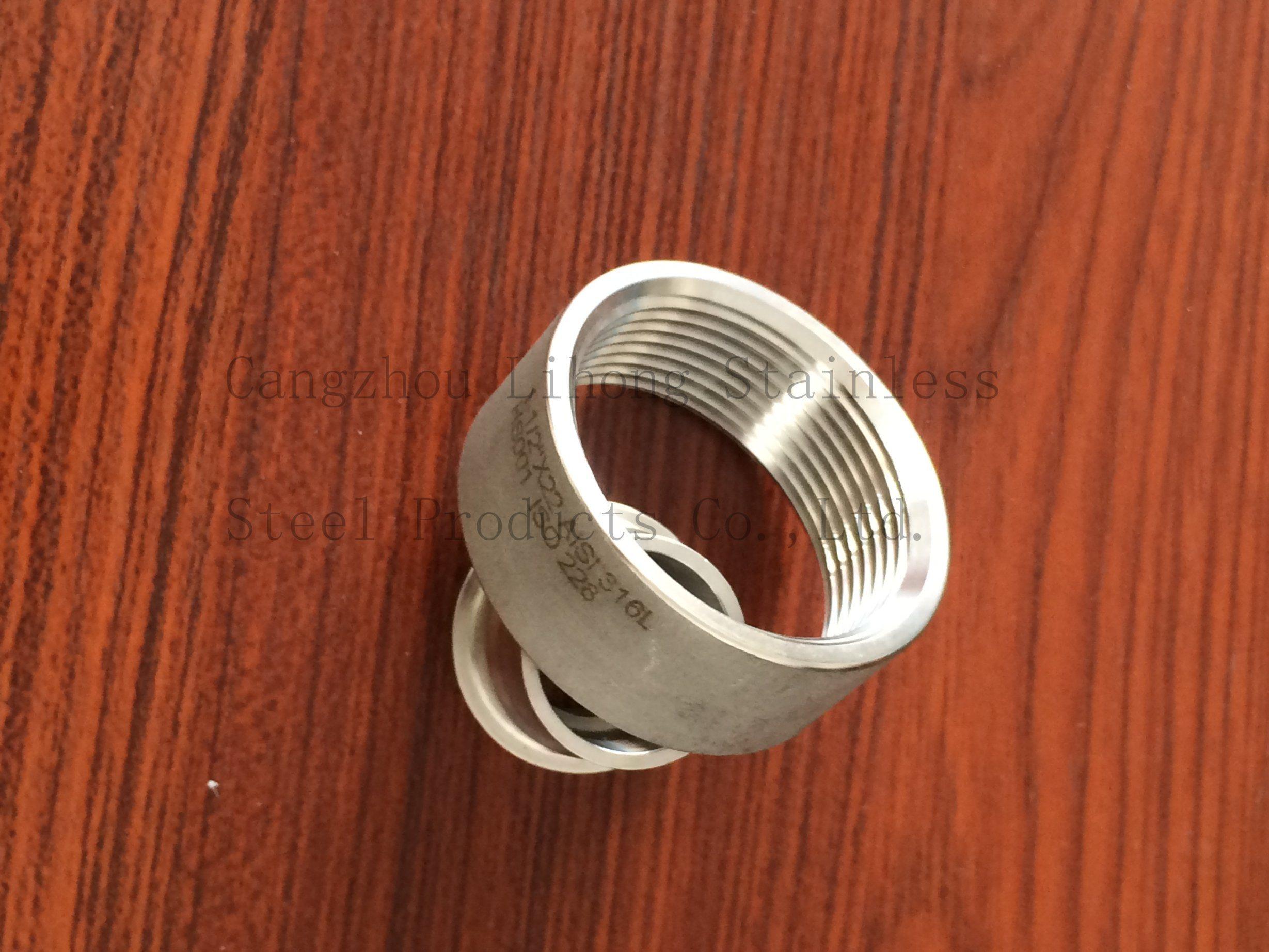 Raccordo tubo in acciaio inox 304L a presa