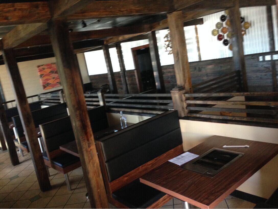 Hotpot Bbq Projekt Moderne Rustikale Grill Gaststätte Möbel Für