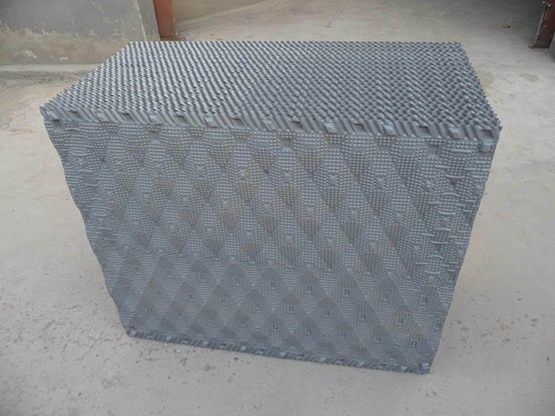 Torre de Resfriamento de PVC cinzento do fuso encher, mídia de infill da China 1000*1000mm