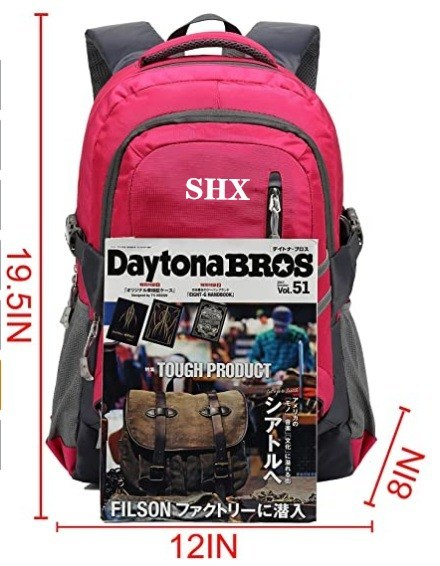 Geschäfts-Rucksack-Beutel mit USB-aufladender Portwasser-beständiger Polyester-Schule Bookbag
