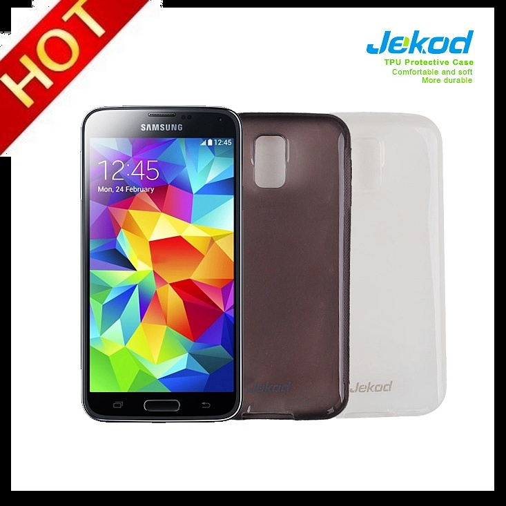 2014 nieuwe TPU-tas voor Galaxy S5