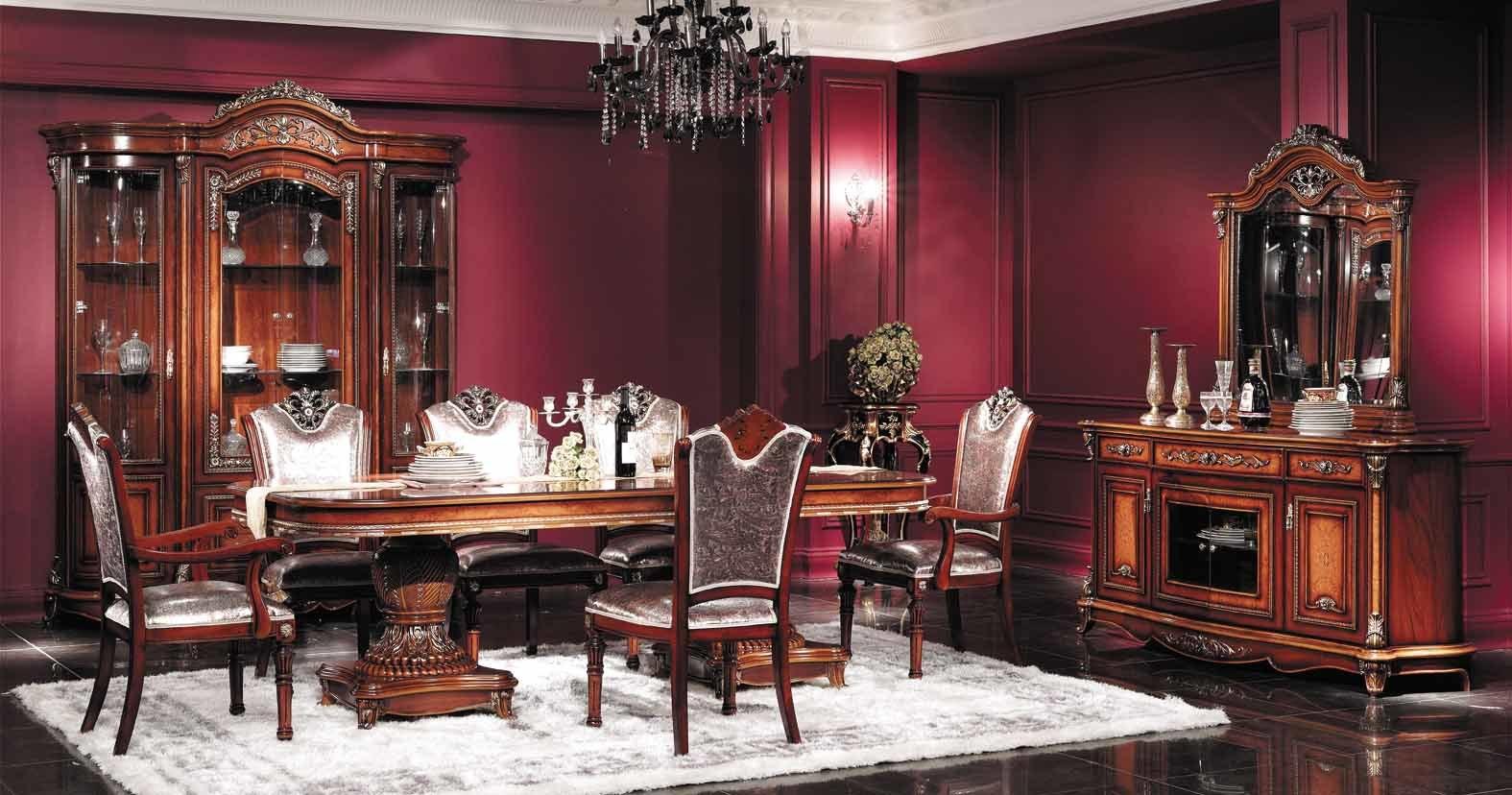 Muebles cl sicos comedor 3071 muebles cl sicos for Comedores de madera economicos