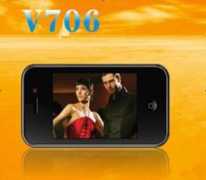 TV WiFi PDA Celular (V706)