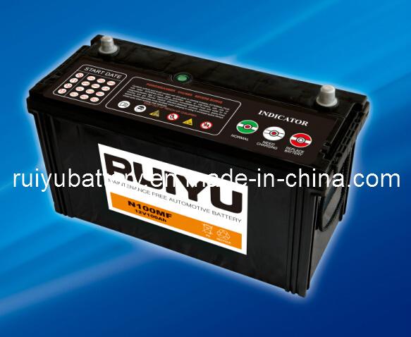 12V 100Ah Autom. Batterie