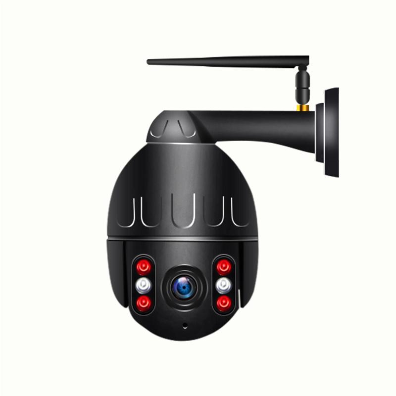 2 MP com zoom PTZ dome Movimento WiFi Auto Tracking exterior sem fios da câmara à prova de água
