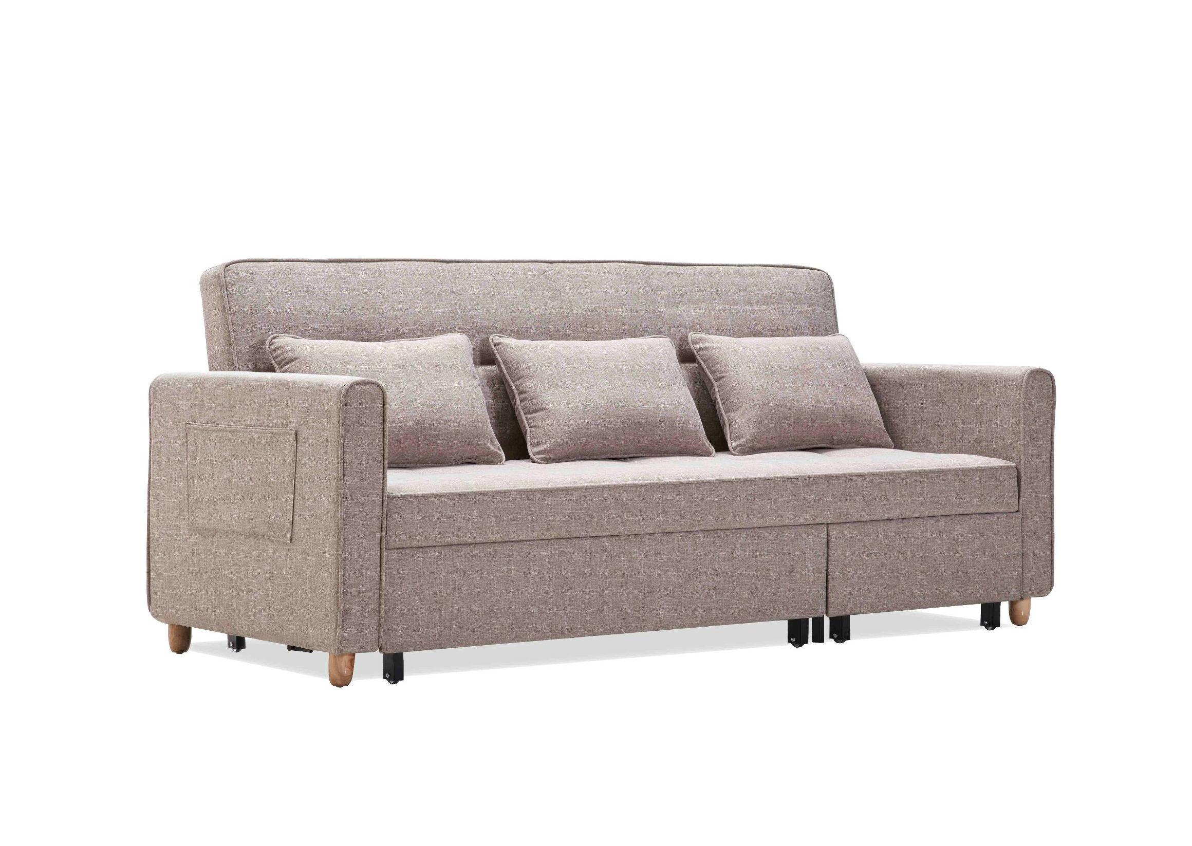Hoek Lounge Slaapbank.Het Moderne Bed Van De Bank Van De Hoek Van Het Meubilair Van De