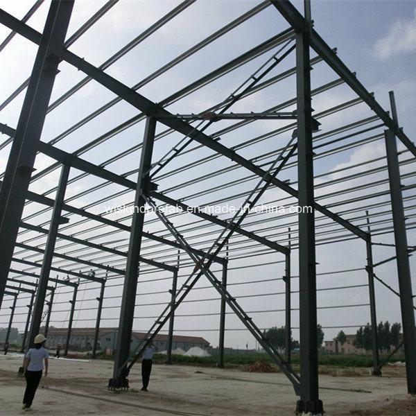 Foto de Galvanizado o pintado Anti-Rust Edificio de estructura de ...