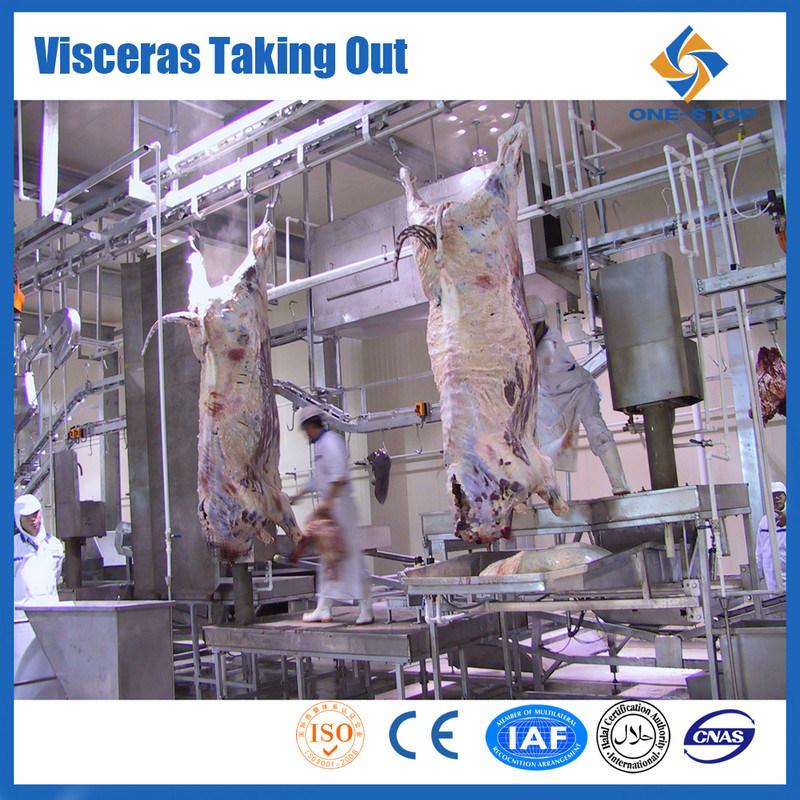 Fleischverarbeitung-Geräten-Maschinerie-Kuh-Schlachten-Gerät