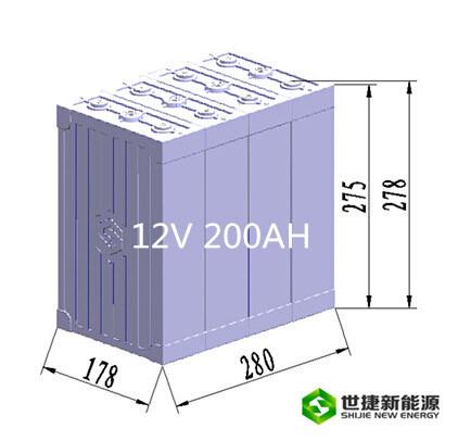 Solar Systemのための12V 200ah Lithium Battery