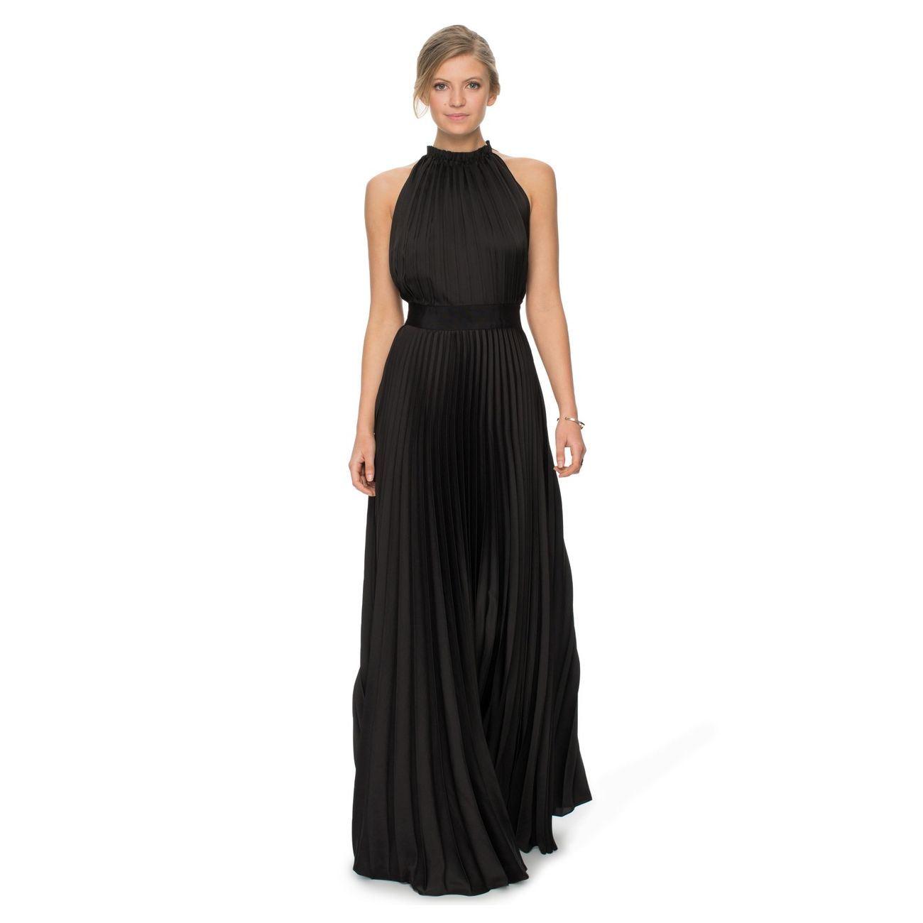 Estilizado y elegante Dress-Cut pliegue de tejido, 100% poliéster