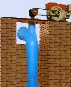 Zlh hélice vertical de la bomba de flujo axial, el FRP Material de fibra de vidrio de la bomba de agua de mar para el riego de la acuicultura