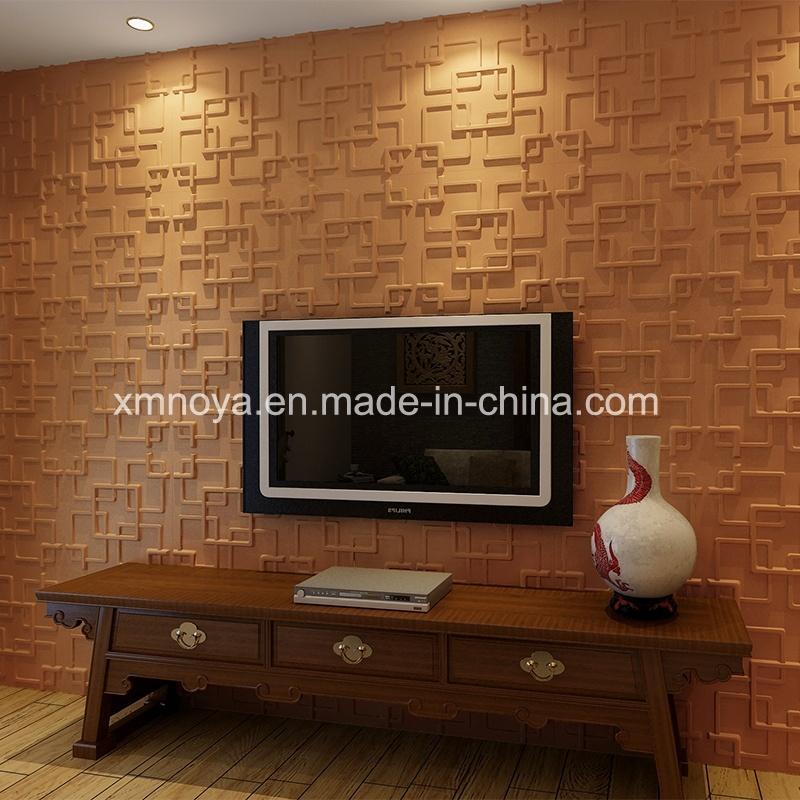 La SGS PVC Panneau mural 3D pour la salle de séjour TV Contexte –La ...