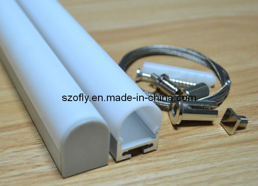 Hängendes Aluminium-Profil der Draht-Befestigung-LED foto auf de ...