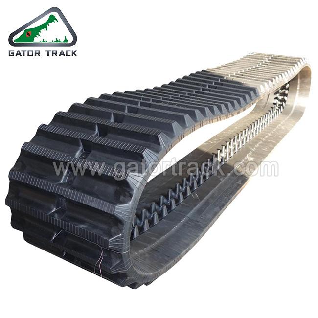 800X150X66 Constructiemachines Reserveonderdelen Dumper-rupsbanden voor Yanmar Morooka Tractor machine