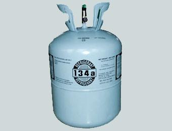 冷却するガス(R134A)