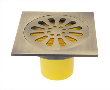 Drain de plancher en laiton -3