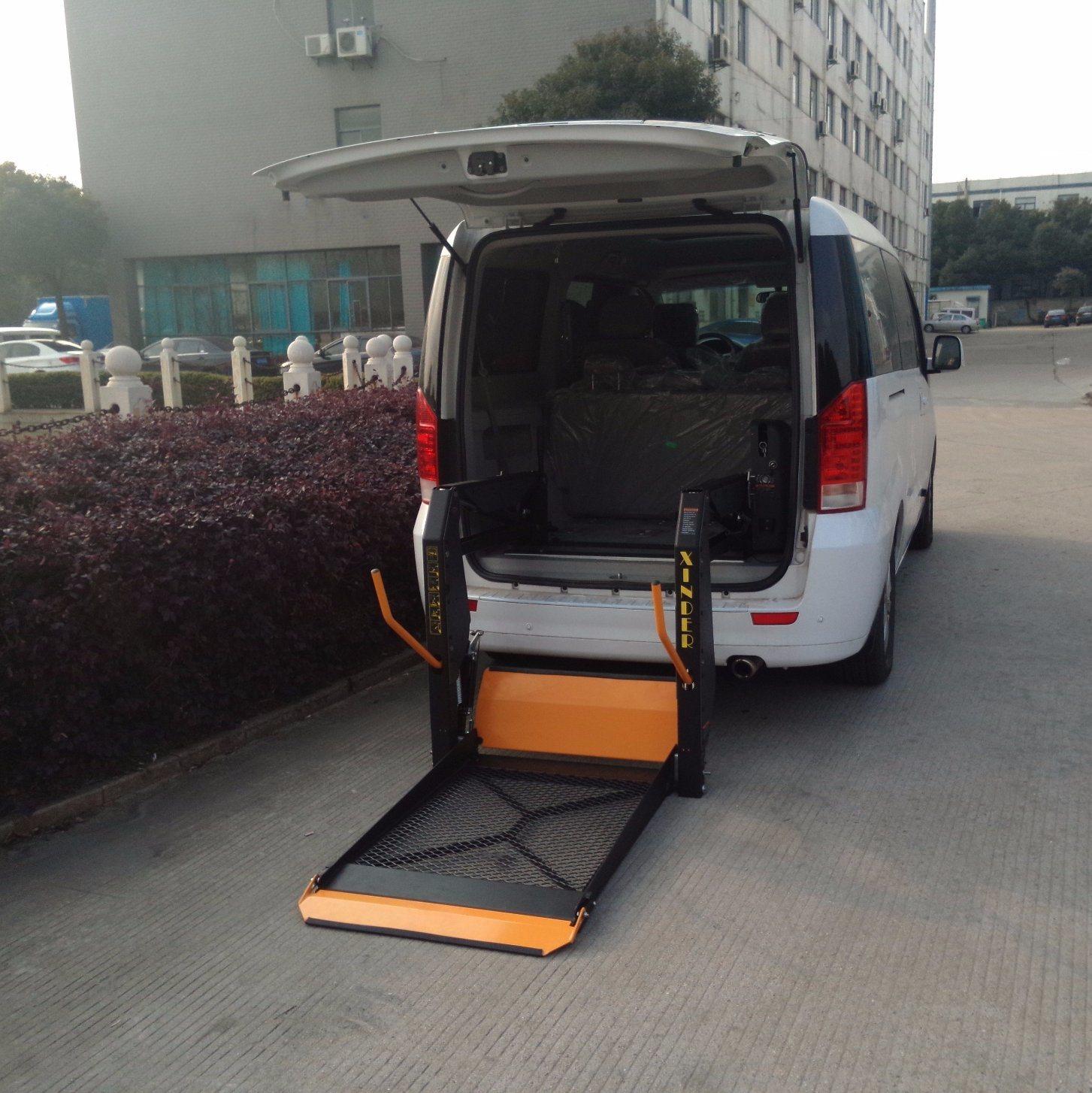 elevador de silla de ruedas para autos