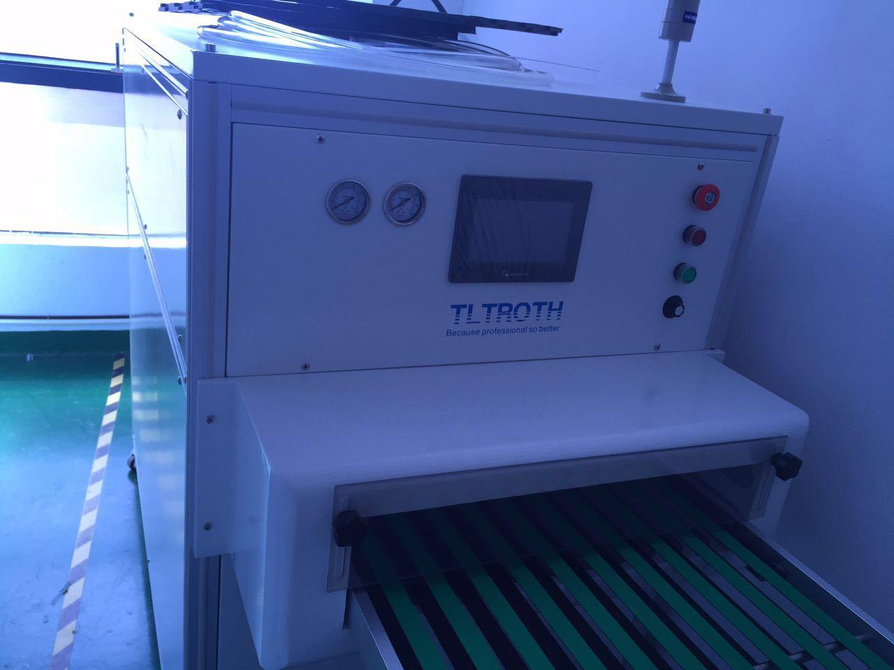 Produzione pulita d'impilamento automatica del professionista della polvere della macchina della polvere di Tltroth della macchina di pulizia del cassetto della macchina di pulizia