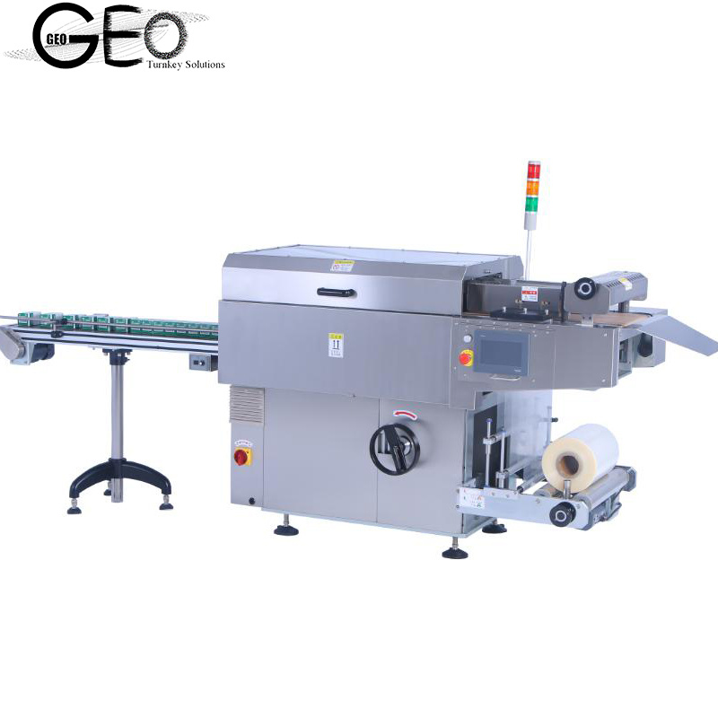 Filme Heat-Sealable Servo Automático Overwrapping Machine