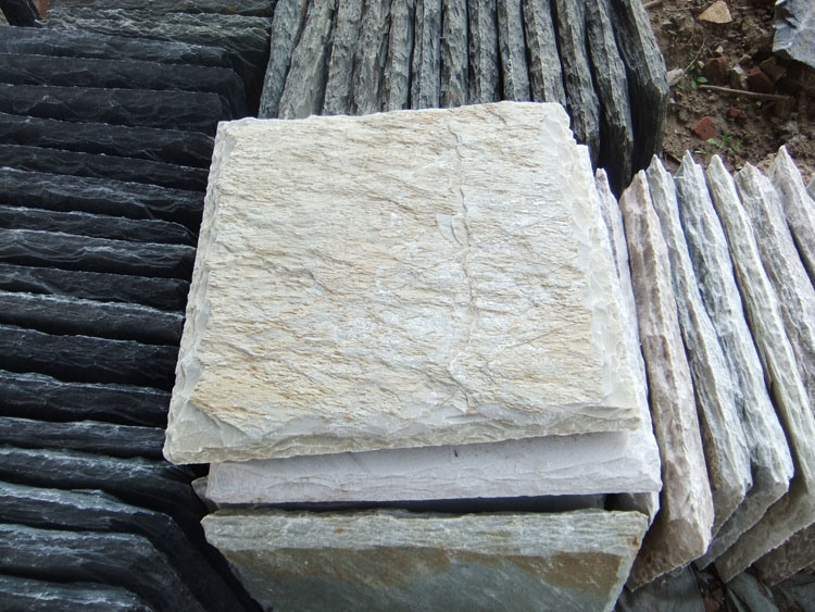china lokale nat rliche schiefer stein kleber spalte pfosten smc pc006 foto auf de made in. Black Bedroom Furniture Sets. Home Design Ideas