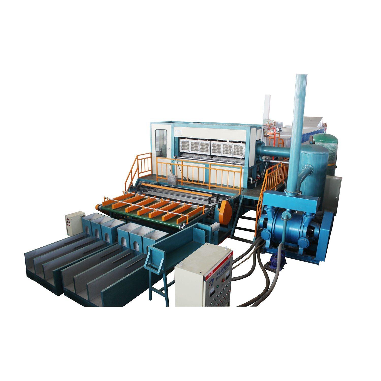 기계를 만드는 자동적인 6000PCS/H 제지용 펄프 계란 쟁반 기계 또는 계란 쟁반