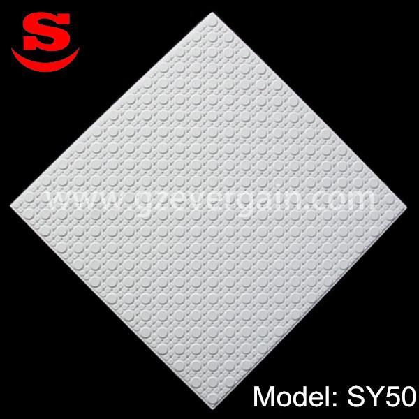 統合された構築の天井の石膏ボード595*595/600*600/603*603mm