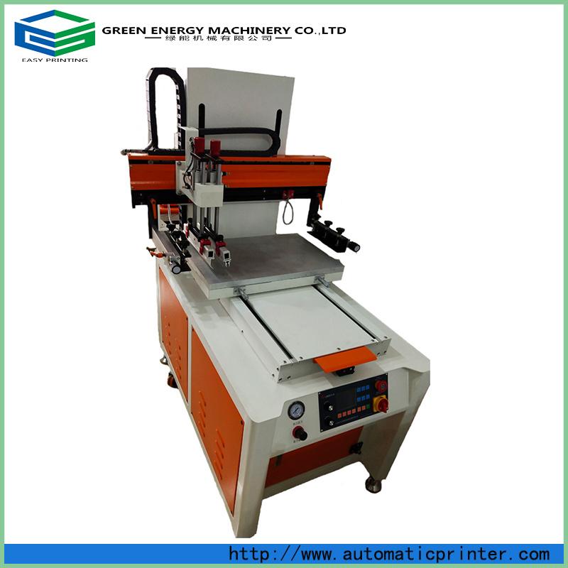 Tela de seda máquina impressora com mesa deslizante
