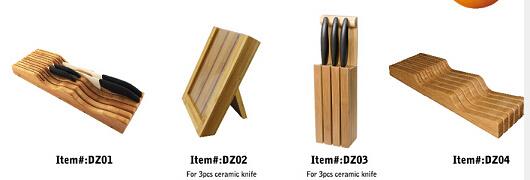 Бамбук Блокировка ножа
