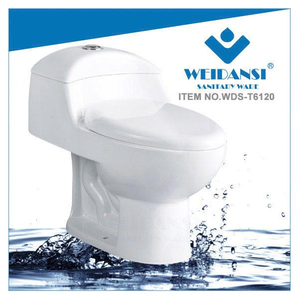 Weidansi陶磁器のSiphonicのストラップの一つの洗面所(WDS-T6120)