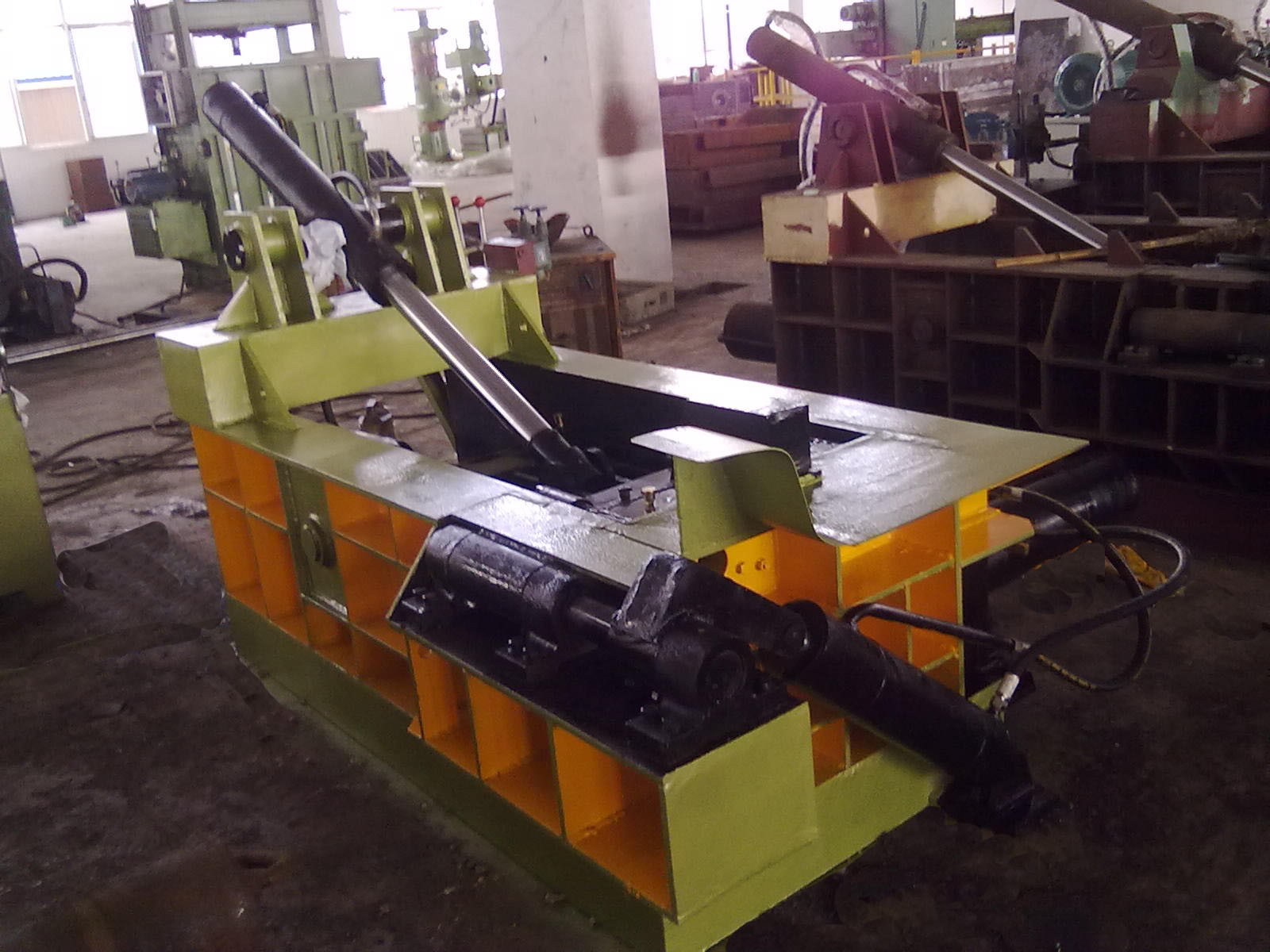 Enfardadeira de fardos de Reciclagem de sucata de aço de elevada qualidade (Y81F-63)