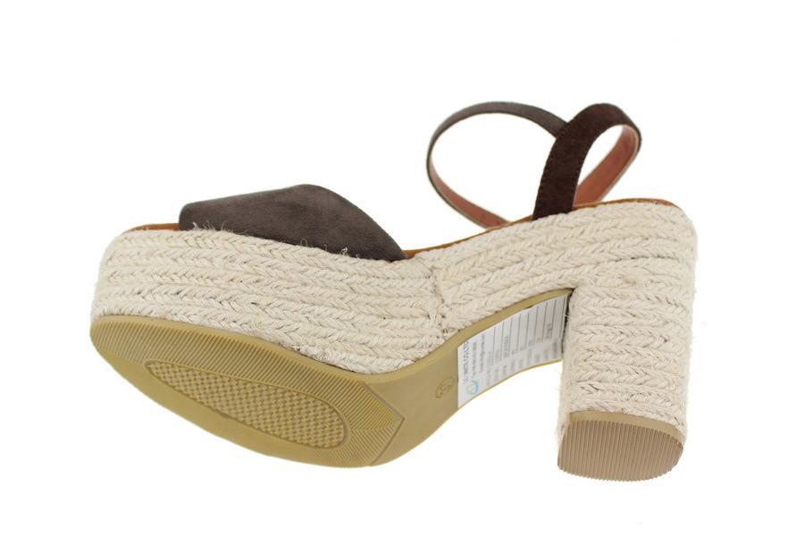 Las Mujeres de Negro de la Plataforma de moda casual sandalias zapatos (LC432A)