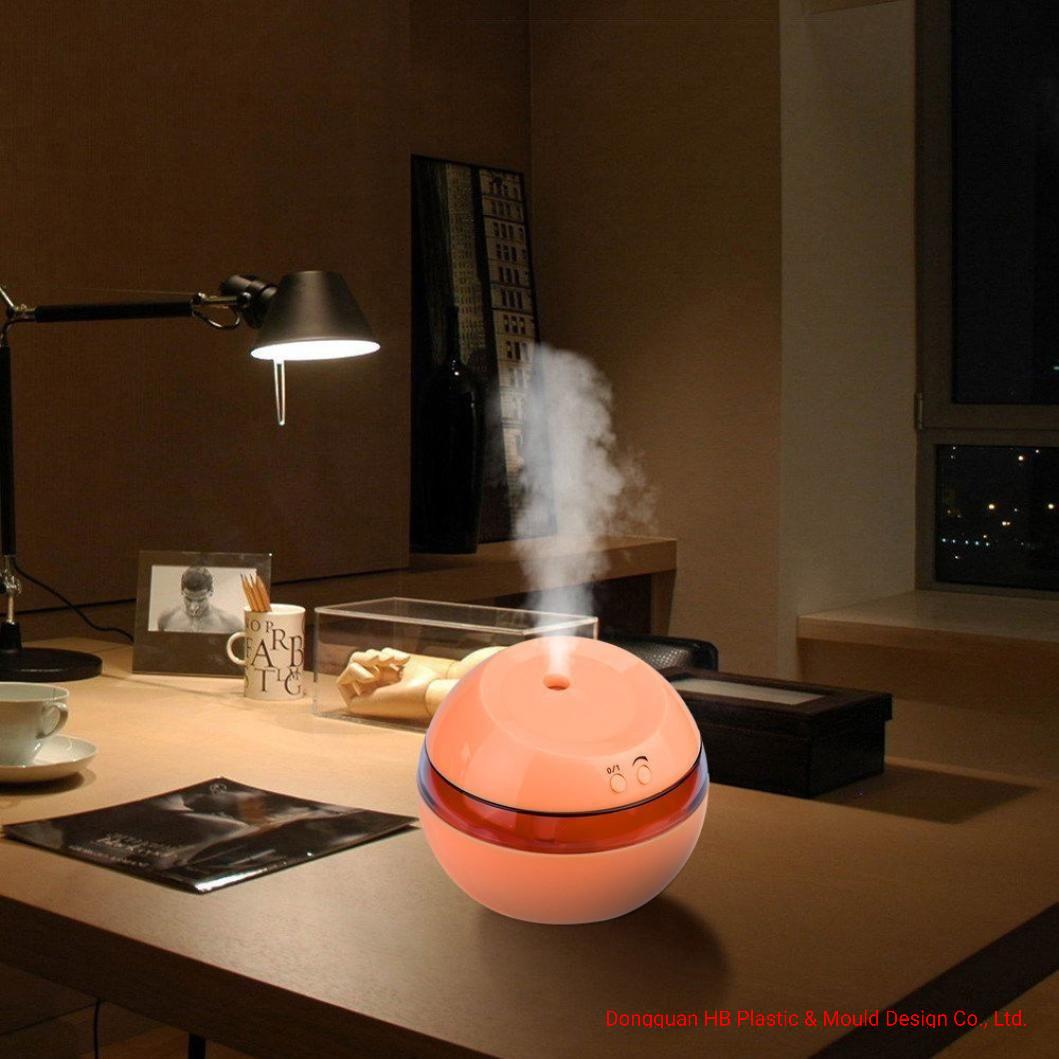 USB personalizados de Humidificadores de aire más fresco aroma Difusor de aceites esenciales de la luz de LED
