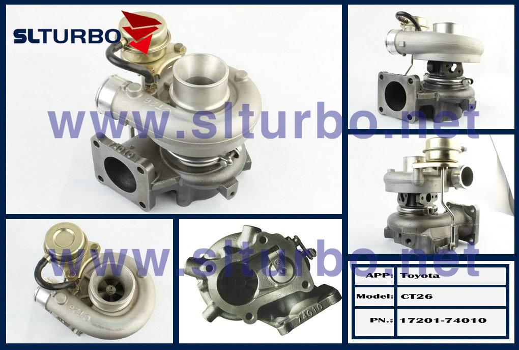 Toyota Celica Gt Four (st165)のためのCT26 Turbocharger 17201-74010 Engine