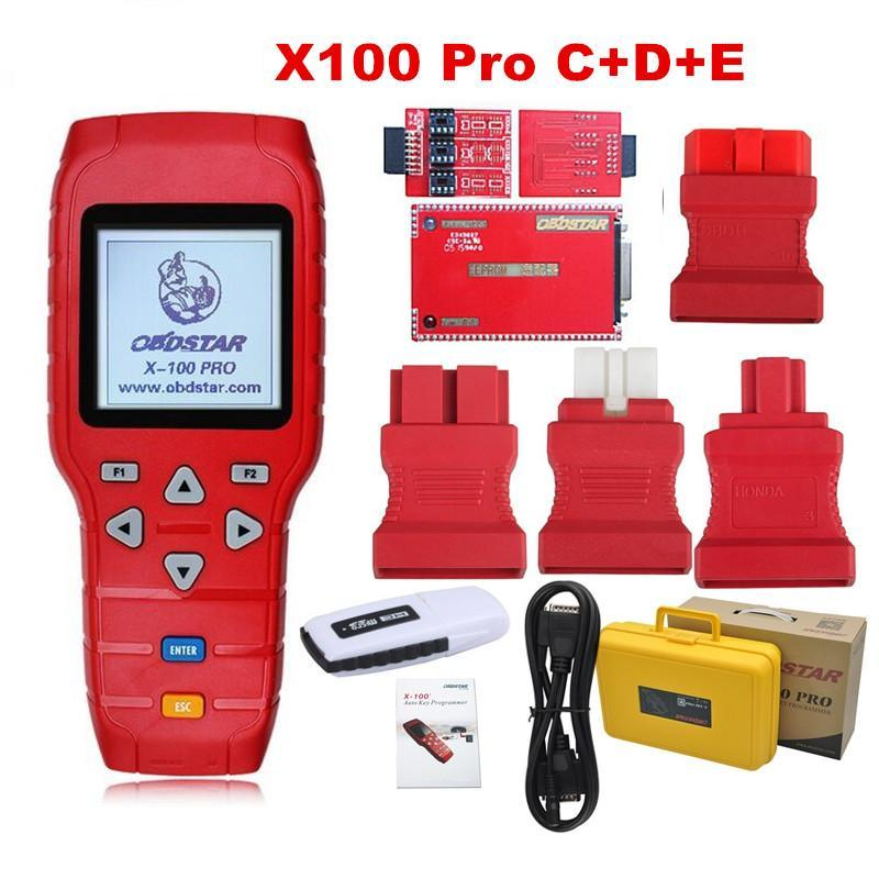 Obdstar x-100 PRO Zeer belangrijke Programmeur C+D+E
