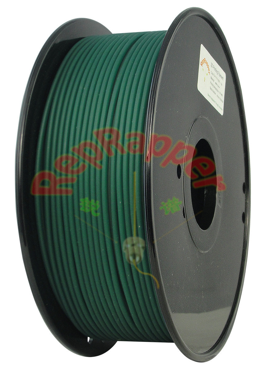 Coiled 좋은 PLA 3.0mm Christmas Green 3D Filament