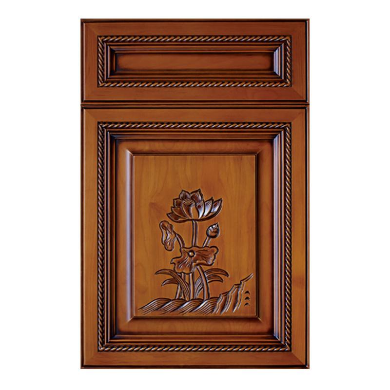 Almirah Talla de placa de MDF puerta del armario (YH-CD4005)