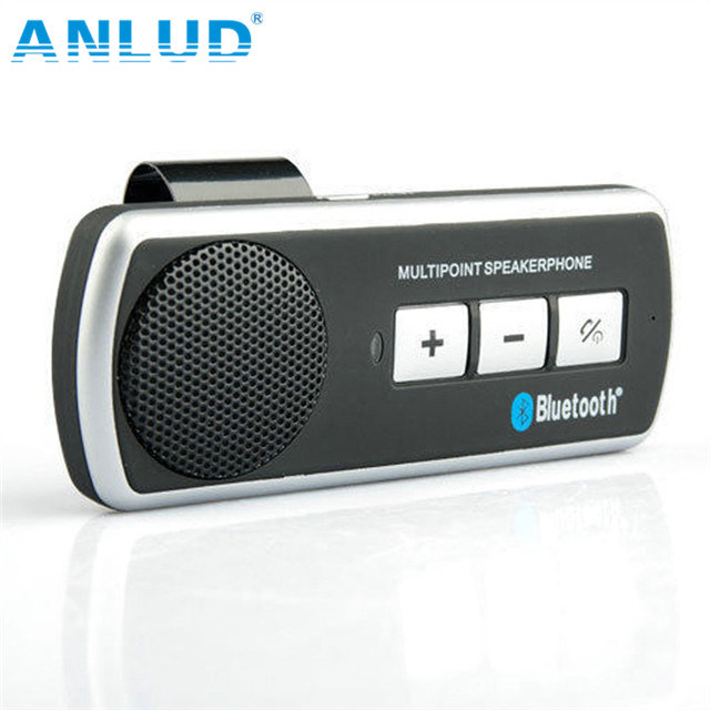 보편적인 무선 핸즈프리 Bluetooth 차 장비 스피커 전화