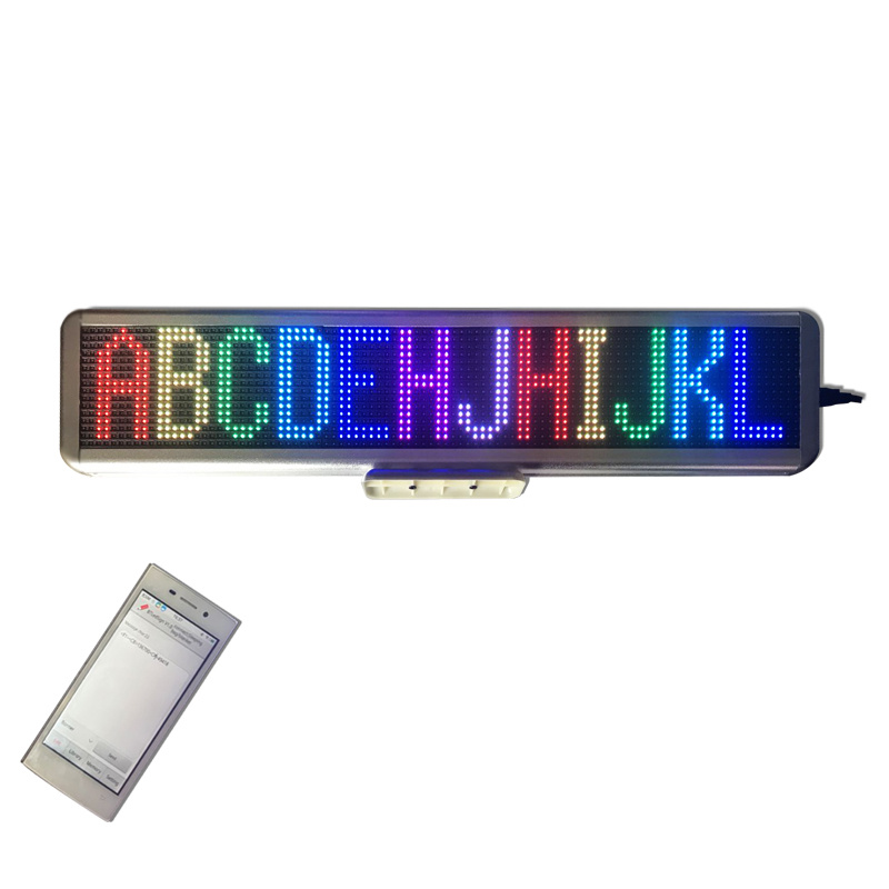 Quadro comandi da tavolino del LED della scheda di rotolamento del messaggio del segno LED di controllo LED di P4.75-16X96RGB Bluetooth per la pubblicità dello sconto