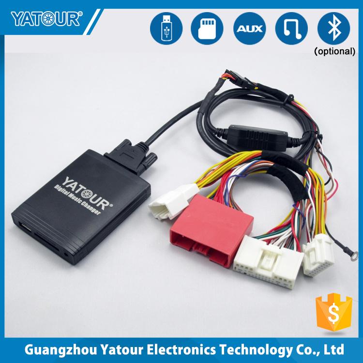 Adaptador Bluetooth adecuado para mazda 2 3 5 6 radio aux cambiador usb sd SD
