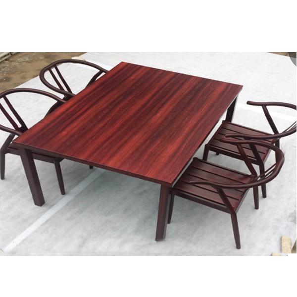 Foto de De buena calidad moderno jardín patio al aire libre Una mesa ...