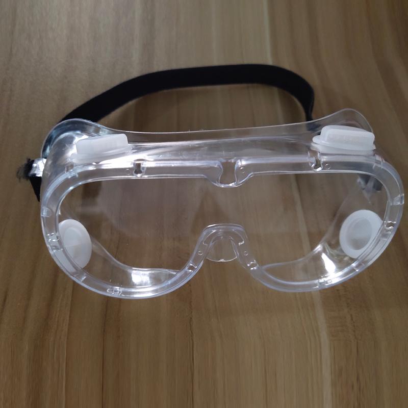 De medische Duidelijke Glazen van de Bescherming van de Ogen van de Beschermende brillen van de Veiligheid van de Maskers van het Gezicht