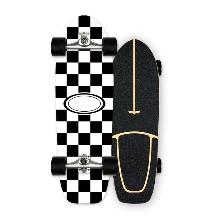 Fabriek Direct Sale Hout Maple Customized Four Wheels Longboard Land Surfen Dancing Longboard Skateboard