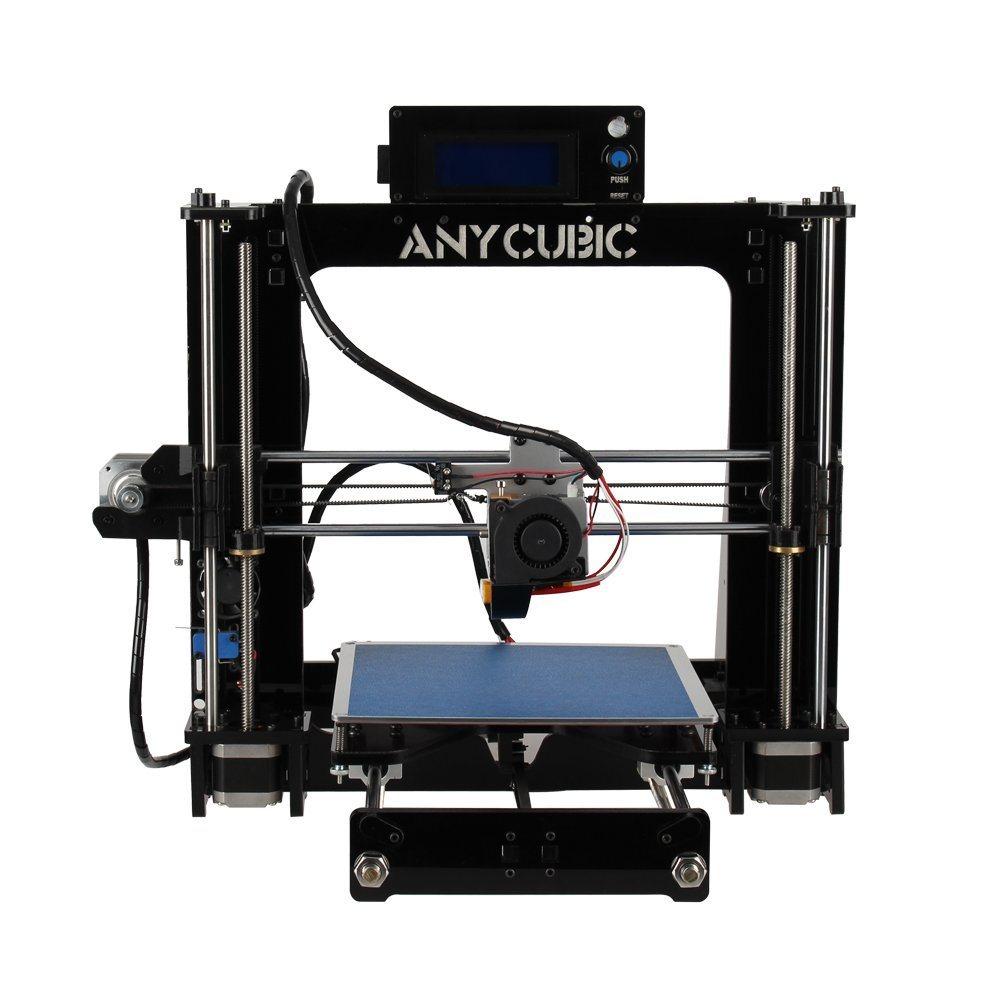 Entièrement assemblé, construire la plaque chauffante avec imprimante 3D mise à niveau automatique avec le volume de 210 mm carré x 205 mm