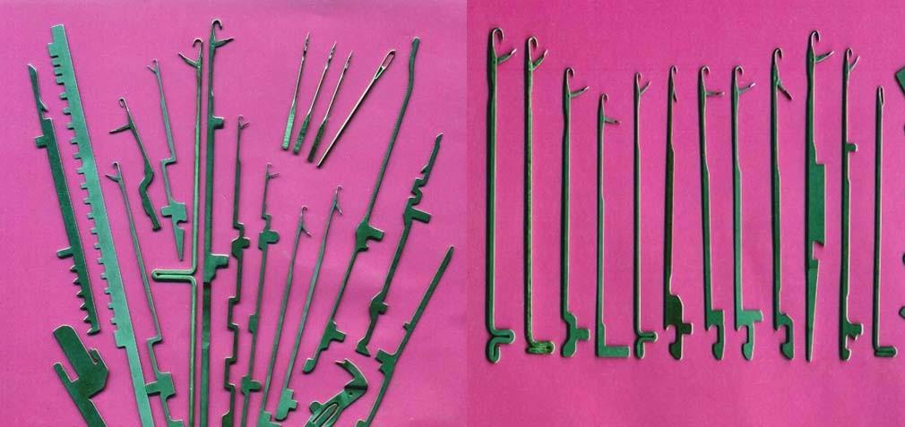 As agulhas para máquinas de SOCKS
