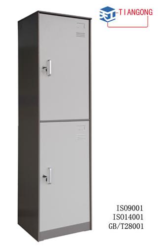 Armário de metal de 2 portas