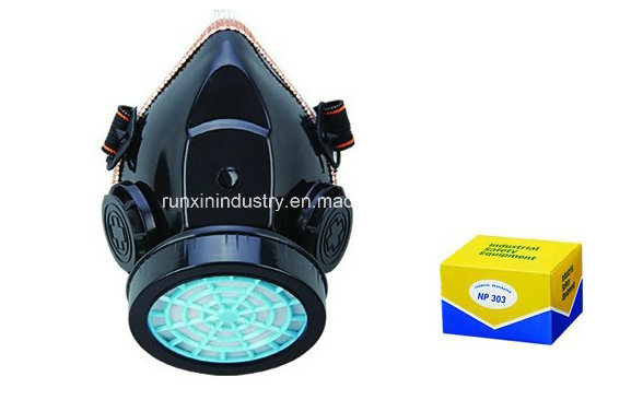 Singolo respiratore Gm303 della polvere della cartuccia