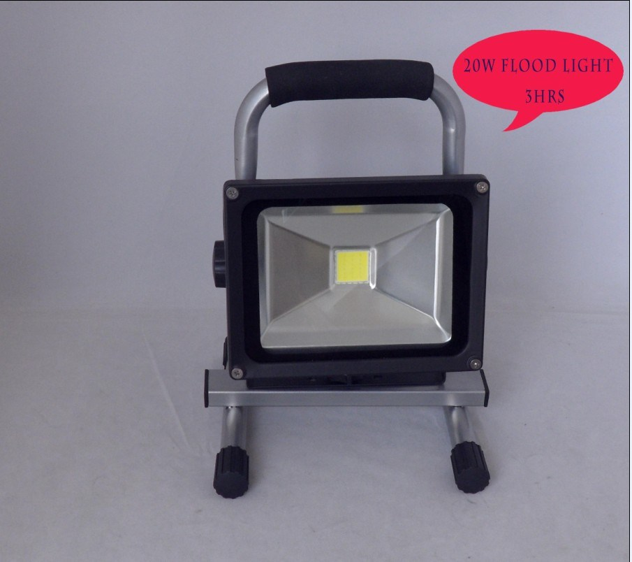 20W LED rechargeable zone inondable phare de travail (L10-2001-20W)