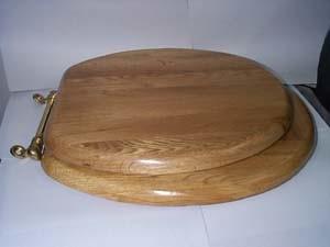 Assento do vaso de madeira