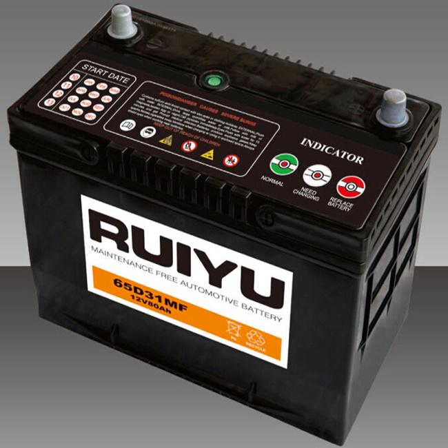 Batteria per auto senza manutenzione da 12 V.