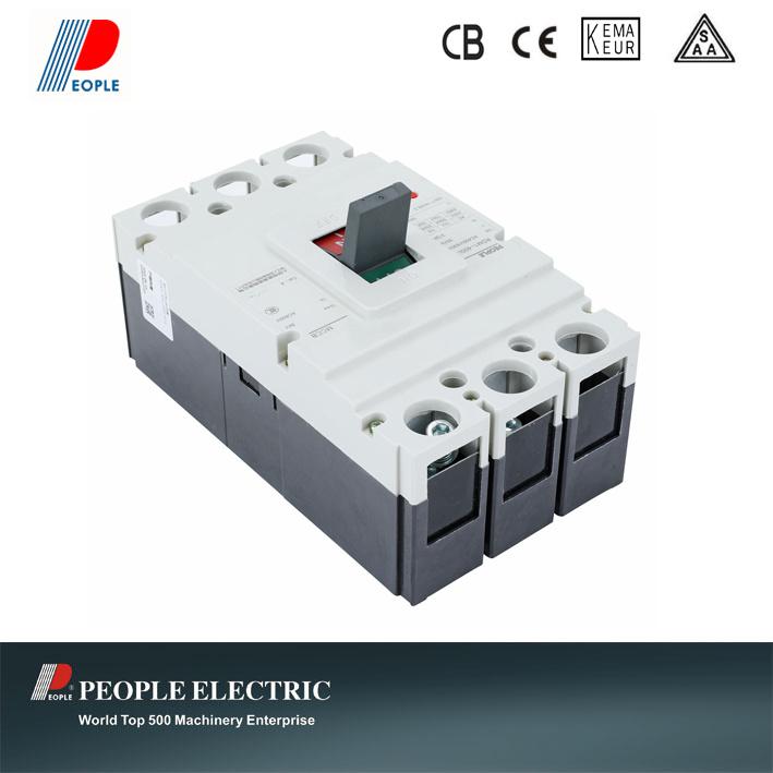 Aprovado Motor 800A MCCB Caixa Moldada Disjuntor